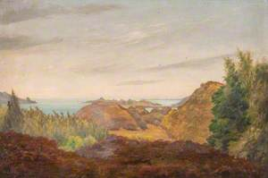 Hillside – View of Castle Sween, Tayvallich