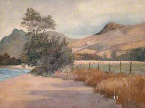 Beside River Orchy, Dalmally