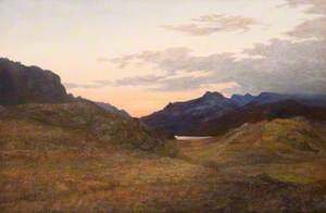 Loch Maree, Sunset, Ross-shire