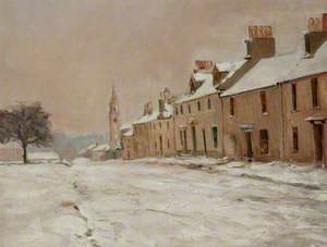 Montgomery Street in Snow