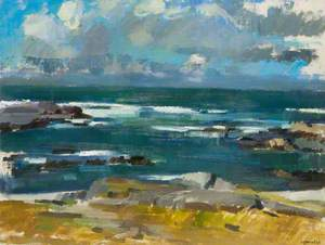 The Atlantic from Colonsay, Early Autumn