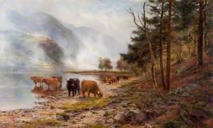 Rising Mists, Loch Eck