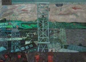 Shipyard Scene