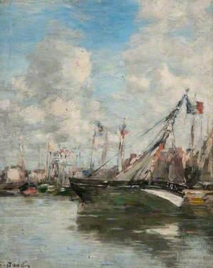 Harbour Scene, Trouville