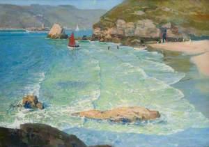 A Sunlit Strand