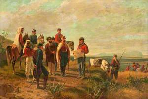 Garibaldi near Palermo