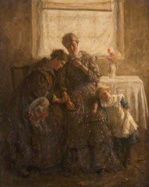 Mourning, Dora and Mary