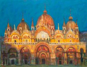 Evening Light, San Marco