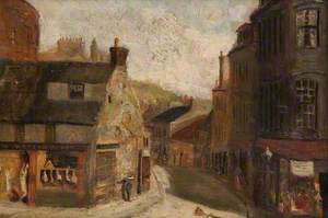 Street Scene (New Street from High Street, Paisley)