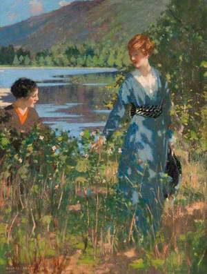Ladies by a Loch