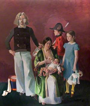 Portrait of the Artist and His Family