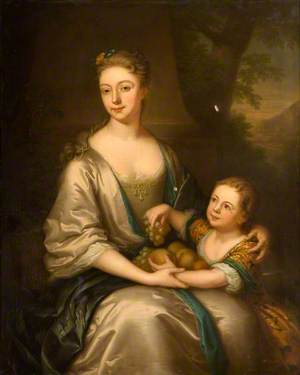 Esther, Viscountess Chetwynd, Wife of John, 2nd Viscount Chetwynd, and Her Son, John Chetwynd (1699–1741)