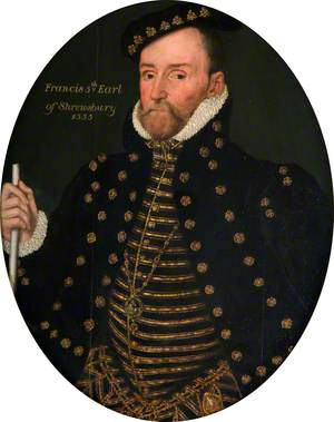 Francis Talbot (1500–1560), 5th Earl of Shrewsbury, KG