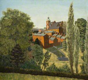 Brough Park and the Nicholson Institute, Leek