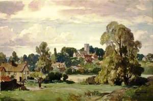 View of Tuddenham, Suffolk