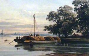 Evening River Scene