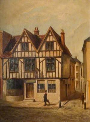 'The Roebuck Inn', Stafford, Demolished 1904