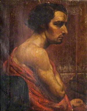 Portrait of a Young Man in a Toga