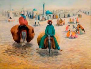 Ride into Khiva, Turkmenistan, Eastern USSR