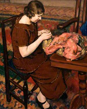 The Sewing Girl