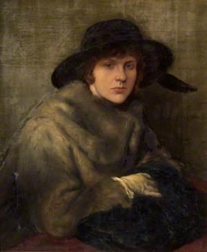 Lady in Grey Fur