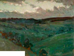 A Moorland Landscape, Staffordshire