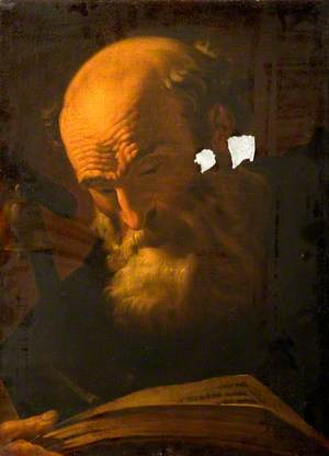 Old Man Reading (St Peter)