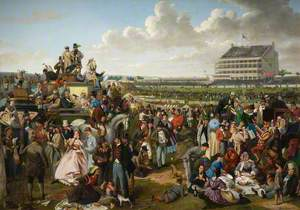 Epsom Downs, 1863