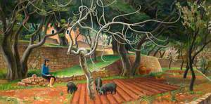 Ibizan Orchard