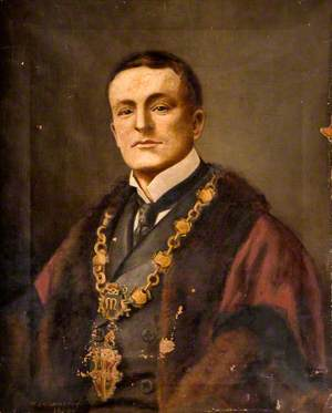 Alderman William Bratt, JP, Electoral Mayor of Burslem, November 1898