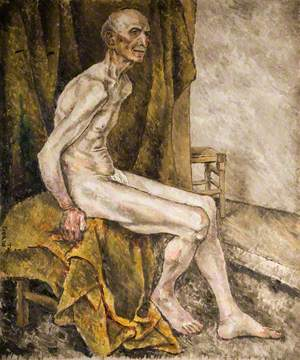 Nude Old Man
