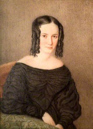 Portrait of an Unknown Female Member of the Pratt Family