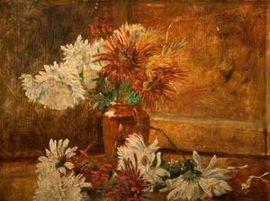 Still Life, Chrysanthemums