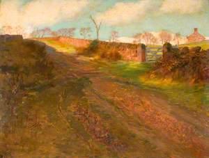 Winter Sunshine, Cliff Park, Rudyard