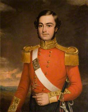 Lieutenant General Thorne, Officer of the 80th Foot (1849–1850)