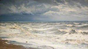 Winter Gale in the Channel