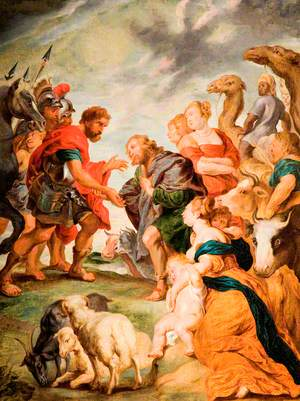 The Meeting of Esau and Jacob