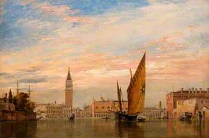 On the Bacino di San Marco, Venice