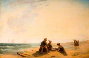 French Coast Scene