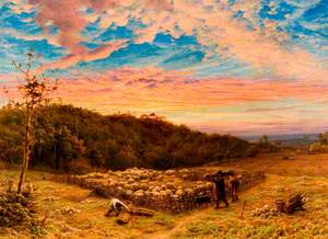 The Sheepfold, Morning in Autumn