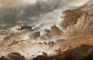 After the Wreck (On the French Coast)