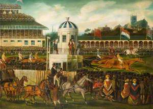 The Race for Wolverhampton Stakes, 1839