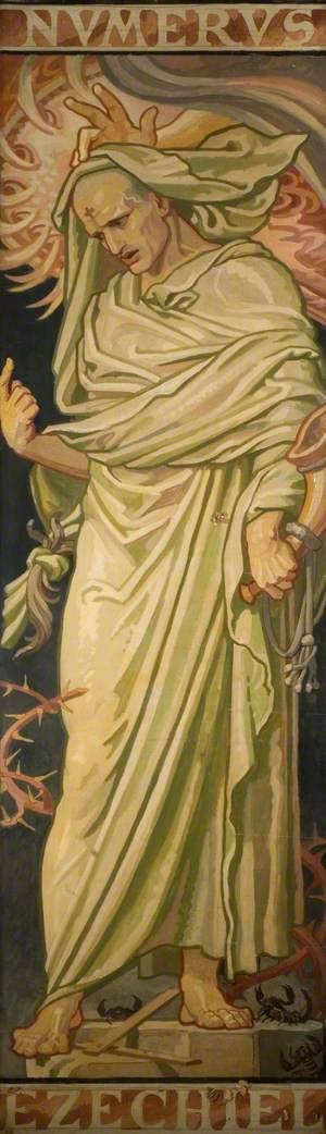 Stained Glass Design, Ezekiel