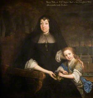 Lady Mary Bagot and Granddaughter Mary, Later Lady Parker