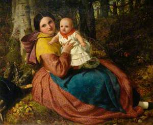 The Artist's Son and Nurse