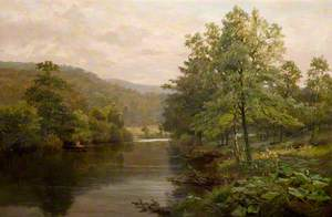 On the Derwent, Derbyshire