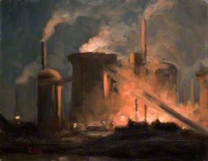 Blast Furnaces, Night