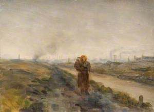 Mother and Child, Black Country Landscape