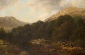 Scene on the Stream between Loch Katrine and Loch Achray
