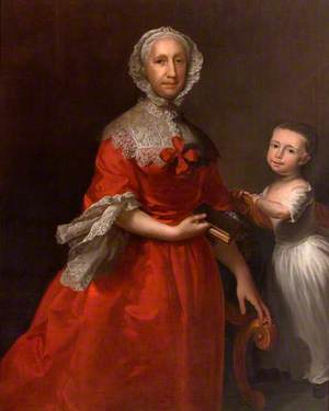 Isabella Lee and Her Grandson, William Waller